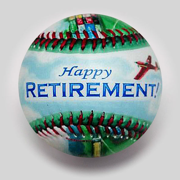 Buy Retirement Baseball Collectible • Hand-Painted, Unique Baseball Gifts by Unforgettaballs®