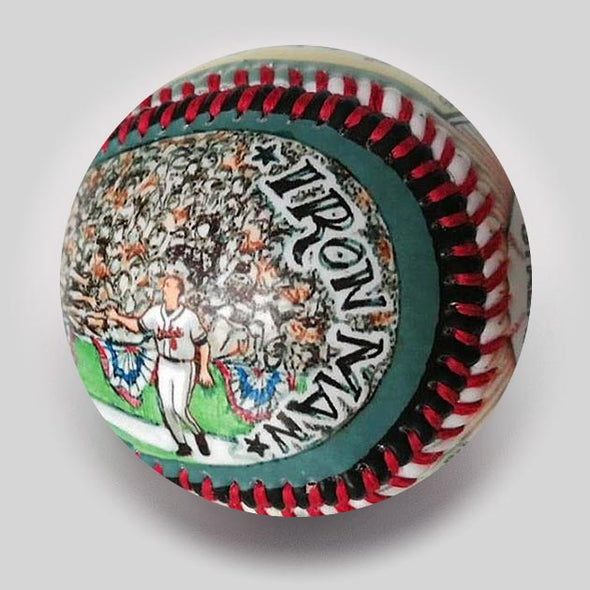 Buy Greatest Moments: Ripken Breaks Record  (Preorder - Ships 6/1/19) Collectible • Hand-Painted, Unique Baseball Gifts by Unforgettaballs®