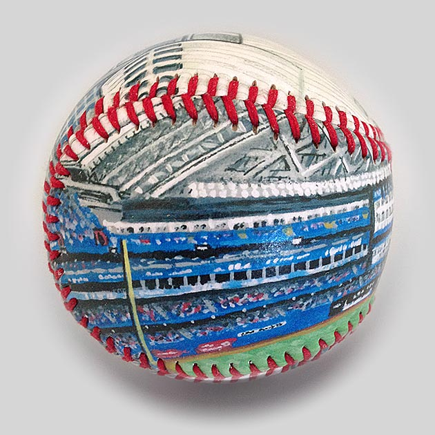 Buy Rogers Centre Baseball Collectible • Hand-Painted, Unique Baseball Gifts by Unforgettaballs®