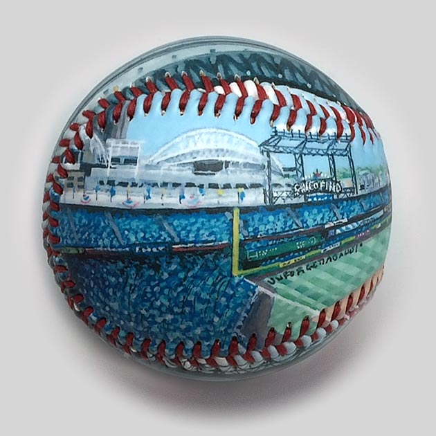 Buy Safeco Field Baseball Collectible • Hand-Painted, Unique Baseball Gifts by Unforgettaballs®