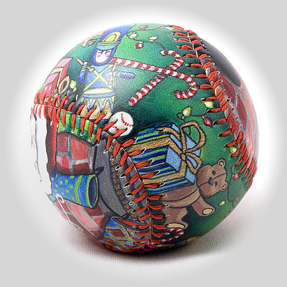 Buy Santa's Journey Baseball Collectible • Hand-Painted, Unique Baseball Gifts by Unforgettaballs®