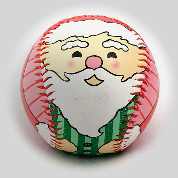 Buy Holiday Santa Baseball Collectible • Hand-Painted, Unique Baseball Gifts by Unforgettaballs®