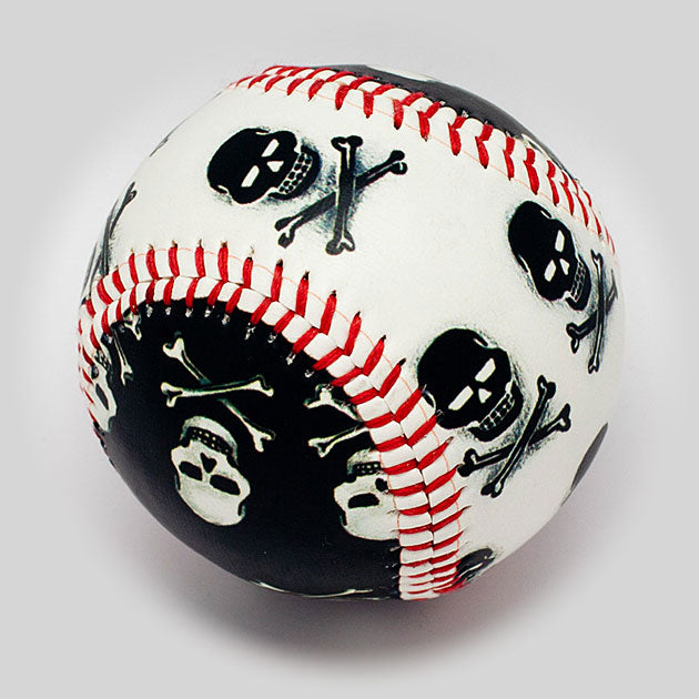 Buy Pirate Skull Baseball Collectible • Hand-Painted, Unique Baseball Gifts by Unforgettaballs®