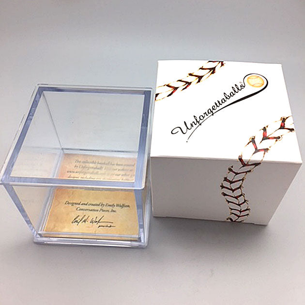 Buy No Strike Outs Baseball Collectible • Hand-Painted, Unique Baseball Gifts by Unforgettaballs®