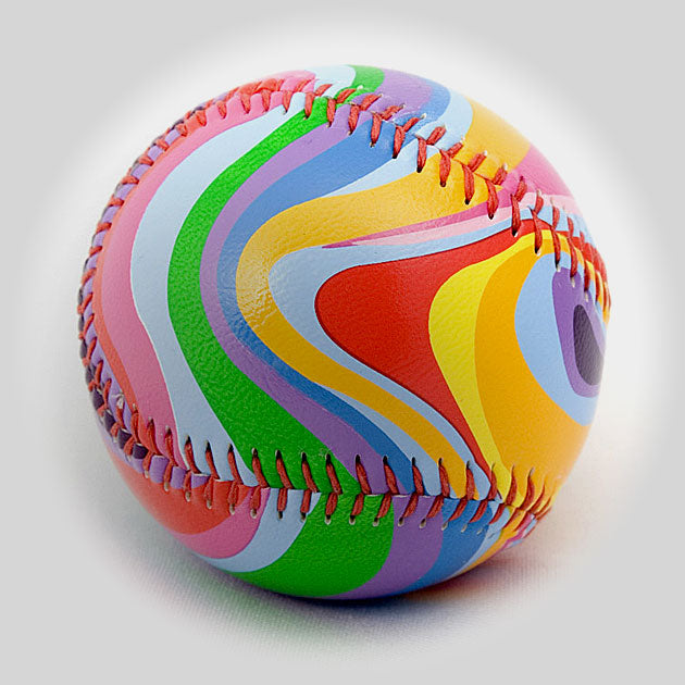 Buy Super Swirls Baseball Collectible • Hand-Painted, Unique Baseball Gifts by Unforgettaballs®