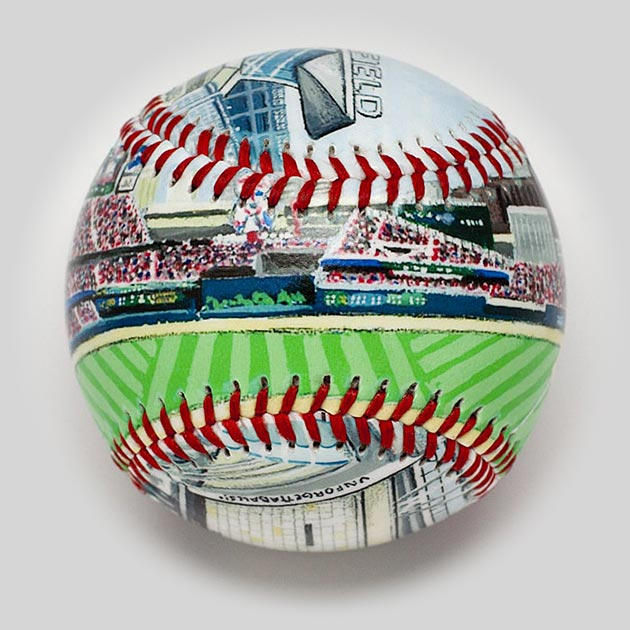 Buy Target Field Baseball Collectible • Hand-Painted, Unique Baseball Gifts by Unforgettaballs®