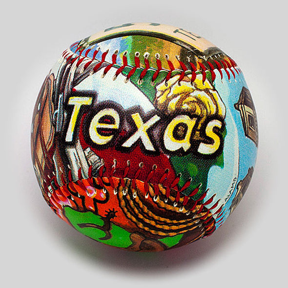 Buy Texas Baseball Collectible • Hand-Painted, Unique Baseball Gifts by Unforgettaballs®