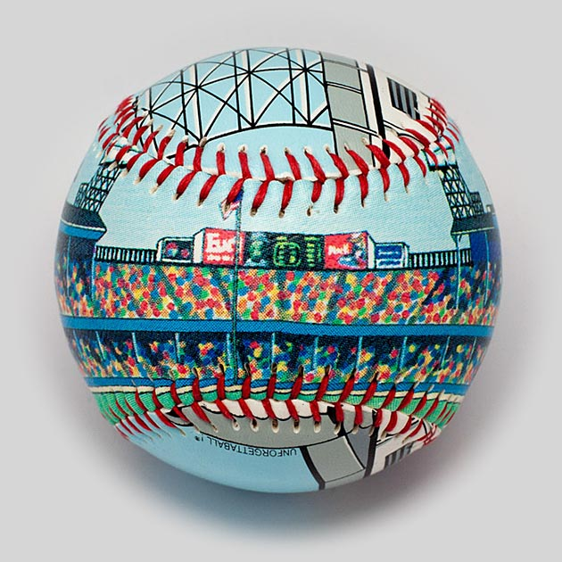 Buy Tiger Stadium Baseball Collectible • Hand-Painted, Unique Baseball Gifts by Unforgettaballs®