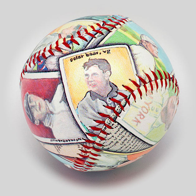 Buy The Tobacco Cards Baseball Collectible • Hand-Painted, Unique Baseball Gifts by Unforgettaballs®