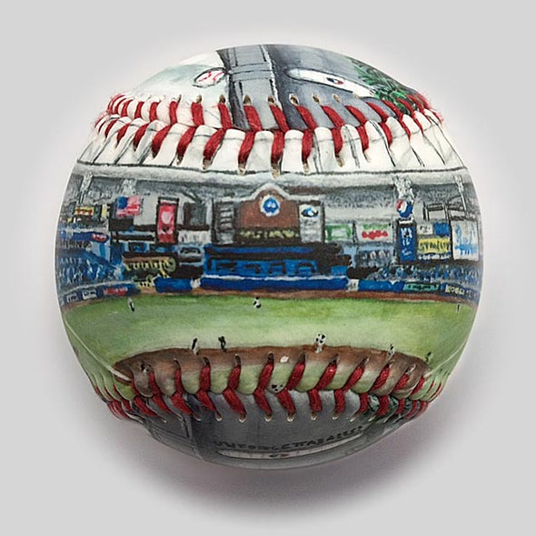 Buy Tropicana Field Baseball Collectible • Hand-Painted, Unique Baseball Gifts by Unforgettaballs®