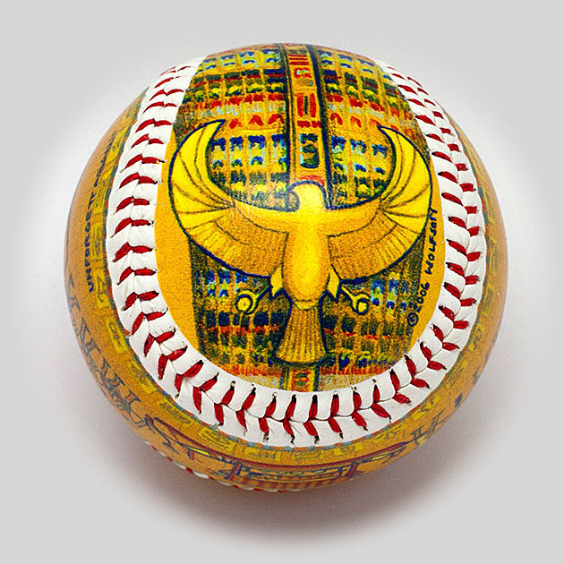Buy King Tut Baseball Collectible • Hand-Painted, Unique Baseball Gifts by Unforgettaballs®