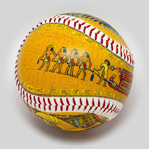 King Tut Baseball