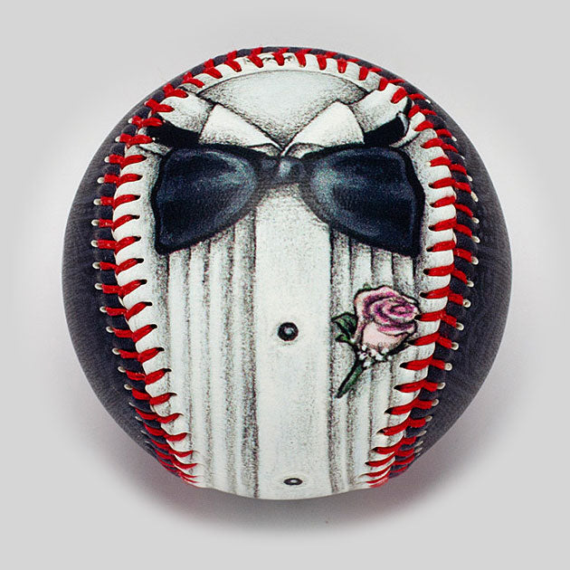 Buy Tuxedo Baseball Collectible • Hand-Painted, Unique Baseball Gifts by Unforgettaballs®