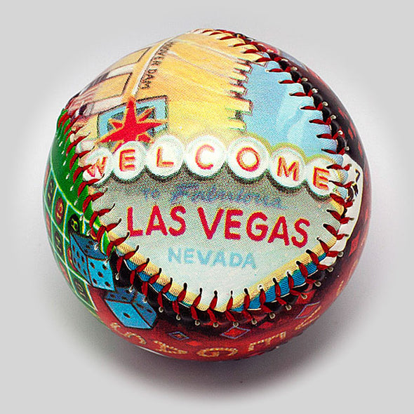 Buy Las Vegas Baseball Collectible • Hand-Painted, Unique Baseball Gifts by Unforgettaballs®