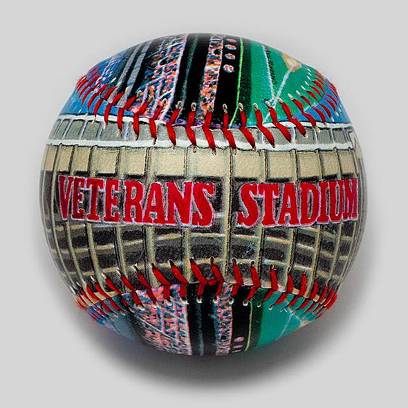 Buy Veterans Stadium Baseball Collectible • Hand-Painted, Unique Baseball Gifts by Unforgettaballs®