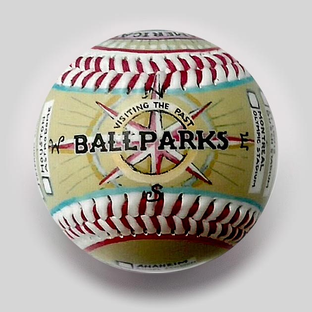 Visiting All Ballparks (Past) Commemorative Baseball