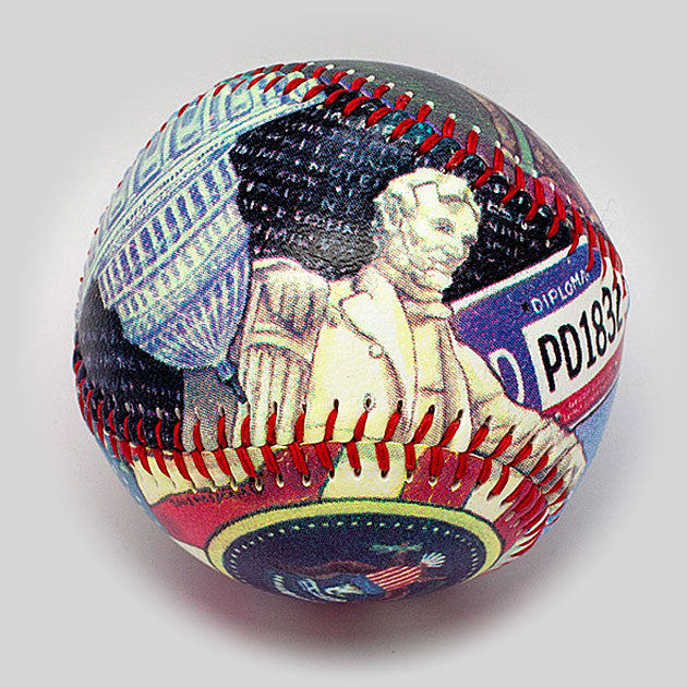 Buy Washington DC Baseball Collectible • Hand-Painted, Unique Baseball Gifts by Unforgettaballs®