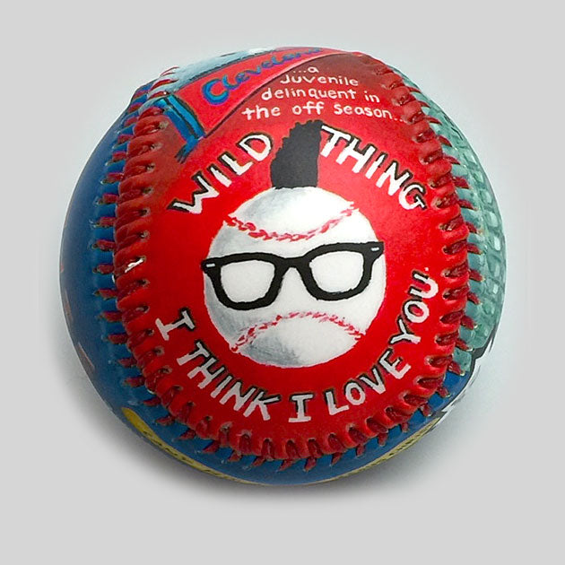Buy Movie Baseball: Wild Thing Collectible • Hand-Painted, Unique Baseball Gifts by Unforgettaballs®