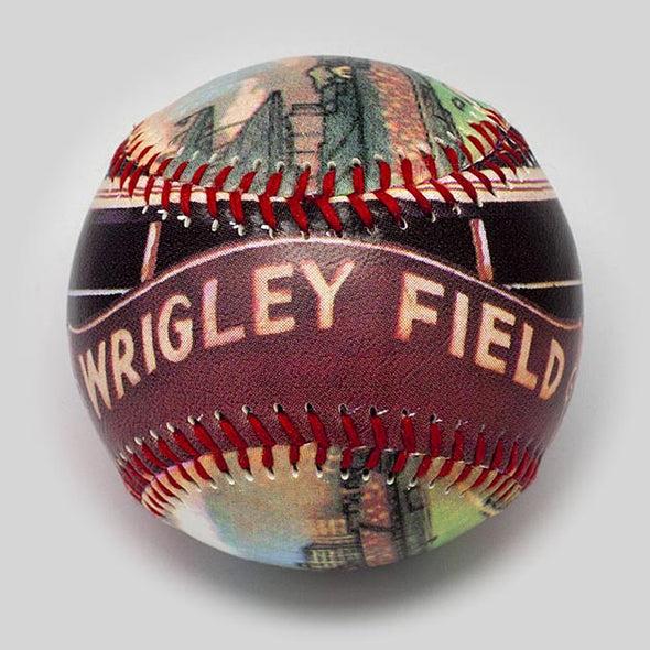 Buy Old Wrigley Field Baseball   **ships 5/15/19** Collectible • Hand-Painted, Unique Baseball Gifts by Unforgettaballs®
