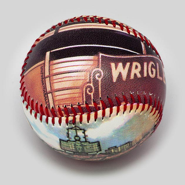 Buy Old Wrigley Field Baseball Collectible • Hand-Painted, Unique Baseball Gifts by Unforgettaballs®