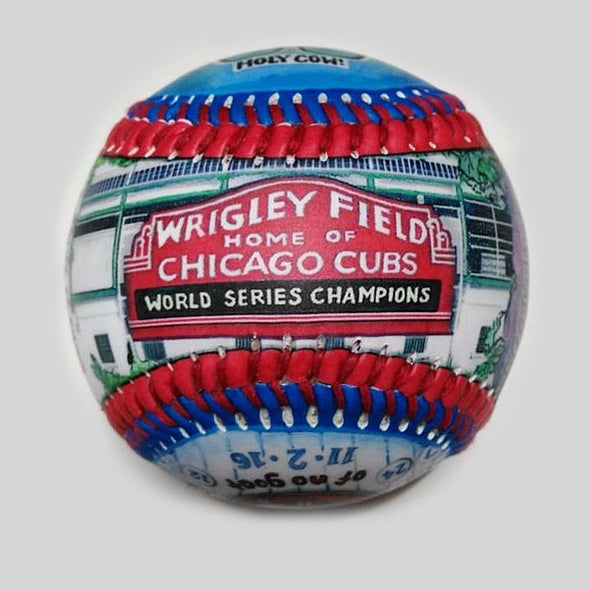 Buy World Series Win Baseball: 2016 Chicago Cubs Collectible • Hand-Painted, Unique Baseball Gifts by Unforgettaballs®