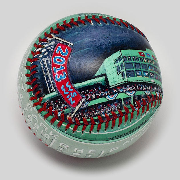 Buy World Series Win Baseball: 2013 Boston Red Sox Collectible • Hand-Painted, Unique Baseball Gifts by Unforgettaballs®