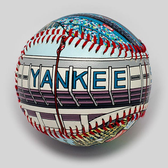 Buy Yankee Stadium Baseball (1976-2008) Collectible • Hand-Painted, Unique Baseball Gifts by Unforgettaballs®