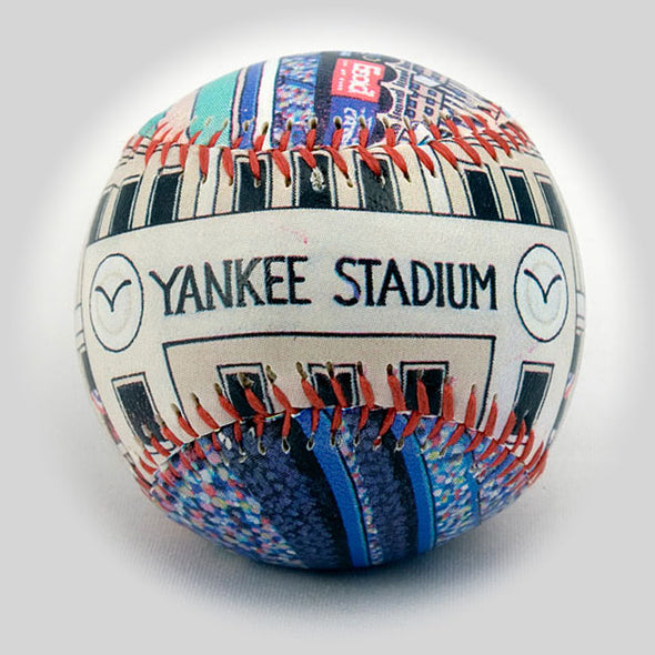 Buy Yankee Stadium Baseball (The Original) Collectible • Hand-Painted, Unique Baseball Gifts by Unforgettaballs®