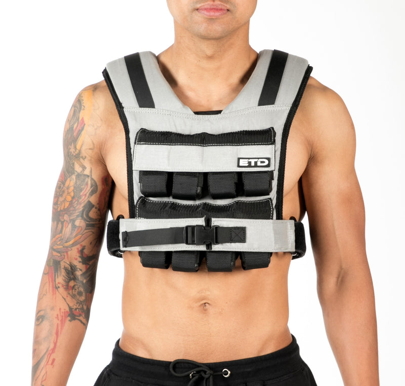 ETD Weight Vest 15kg - Grey