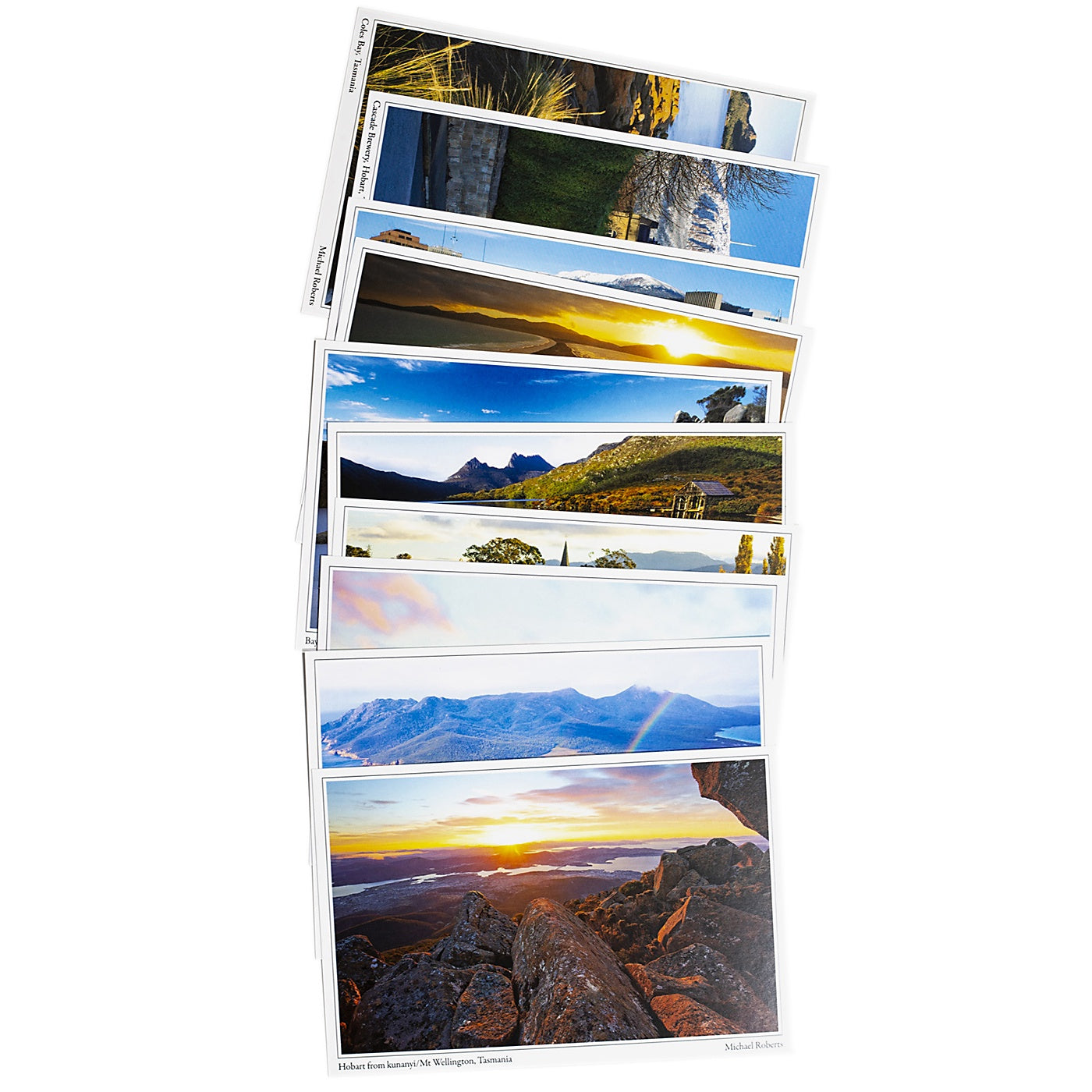 Mountain Peak Photography - Pack of 10 Postcards - Iconic Tasmanian Scenes