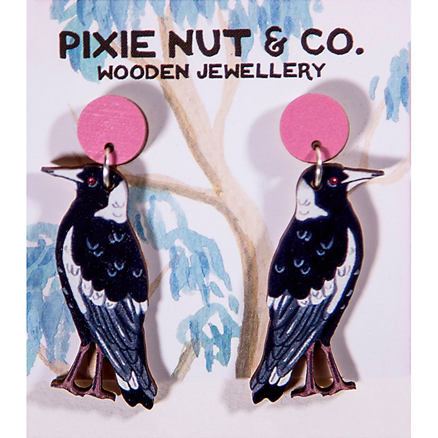 Pixie Nut & Co - Earrings - Magpie