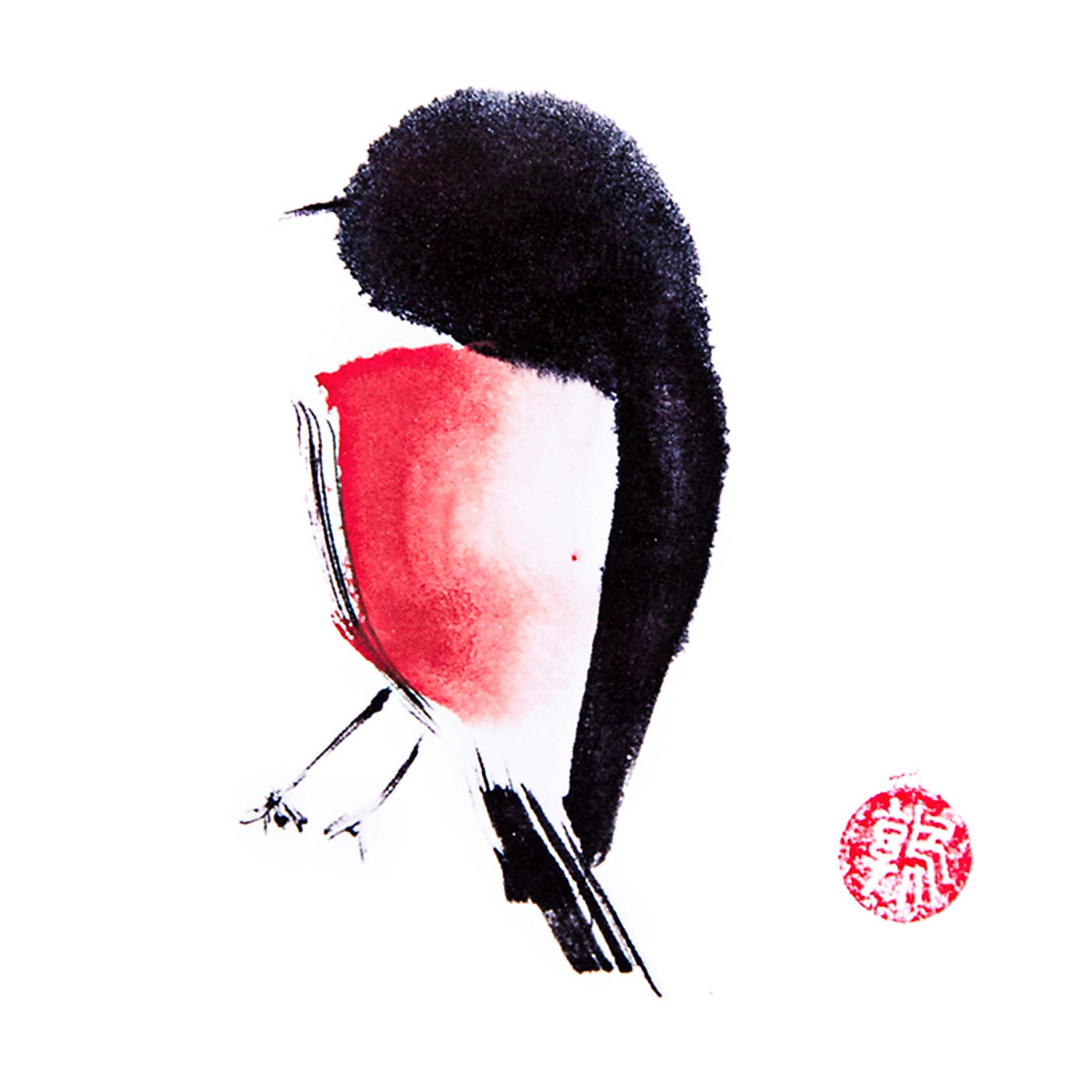 Artcards.Ink - Art Print - Robin