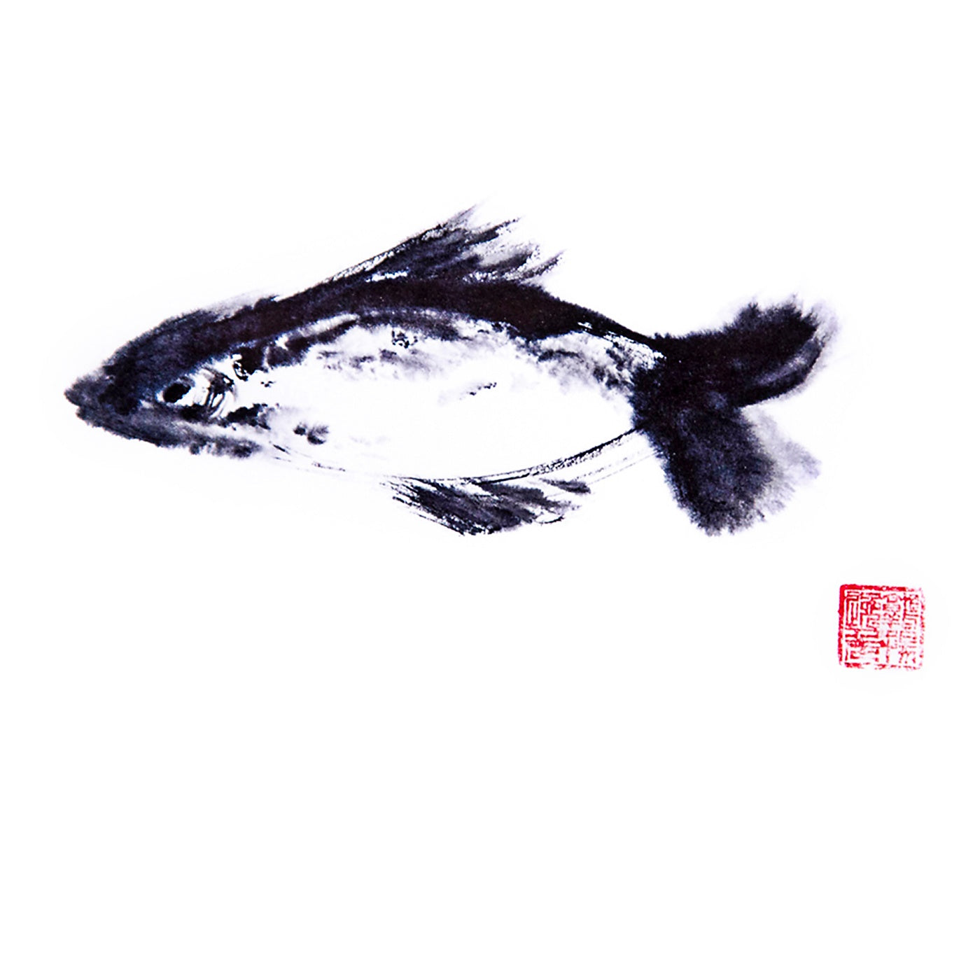 Artcards.Ink - Art Print - Fish