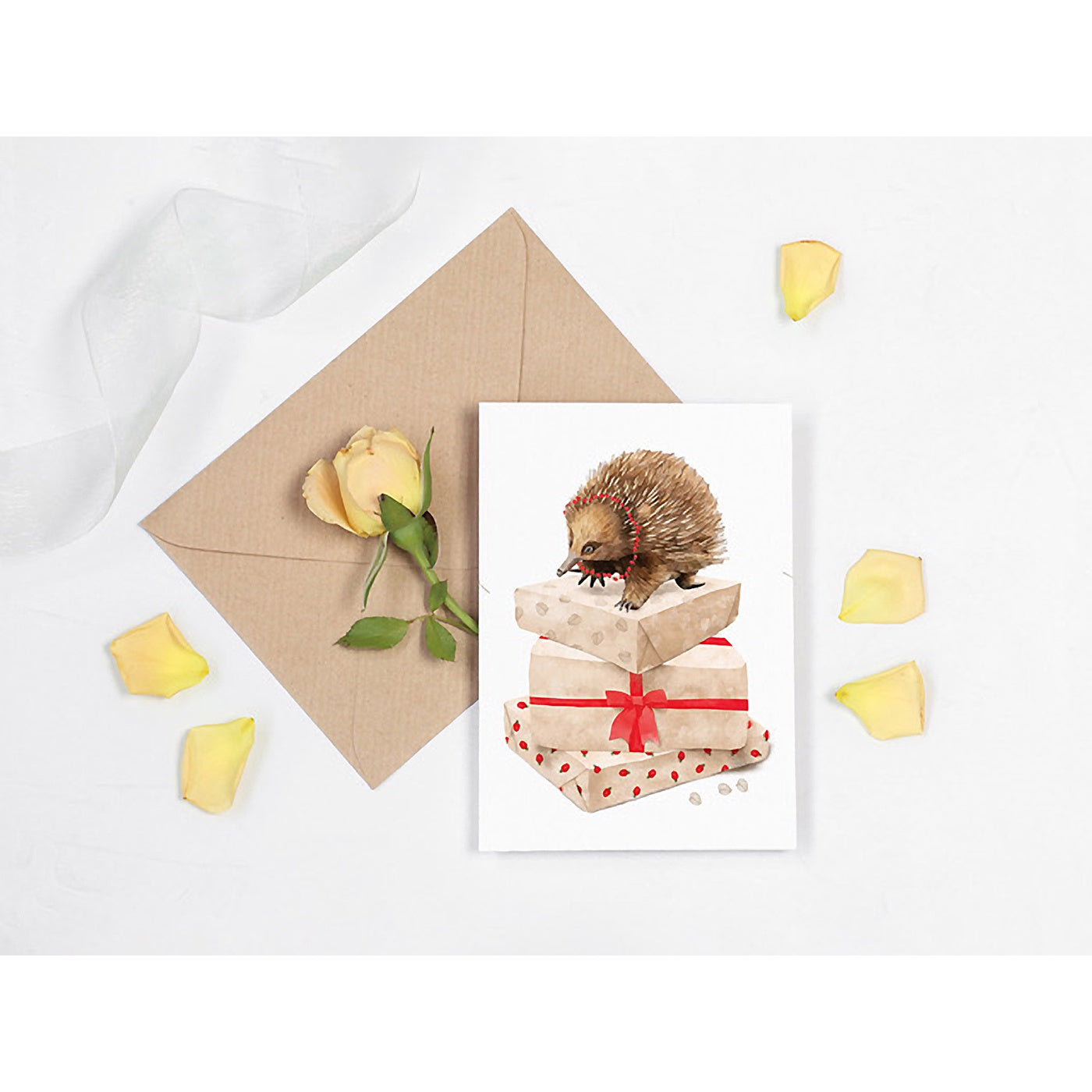 Best in Show - Christmas Card - Echidna