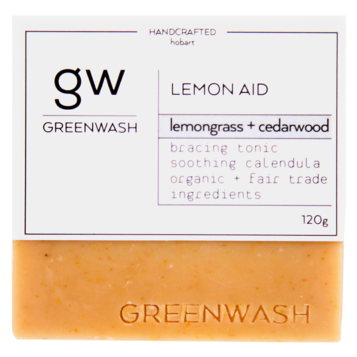 Greenwash - Soap Bar - Lemon Aid