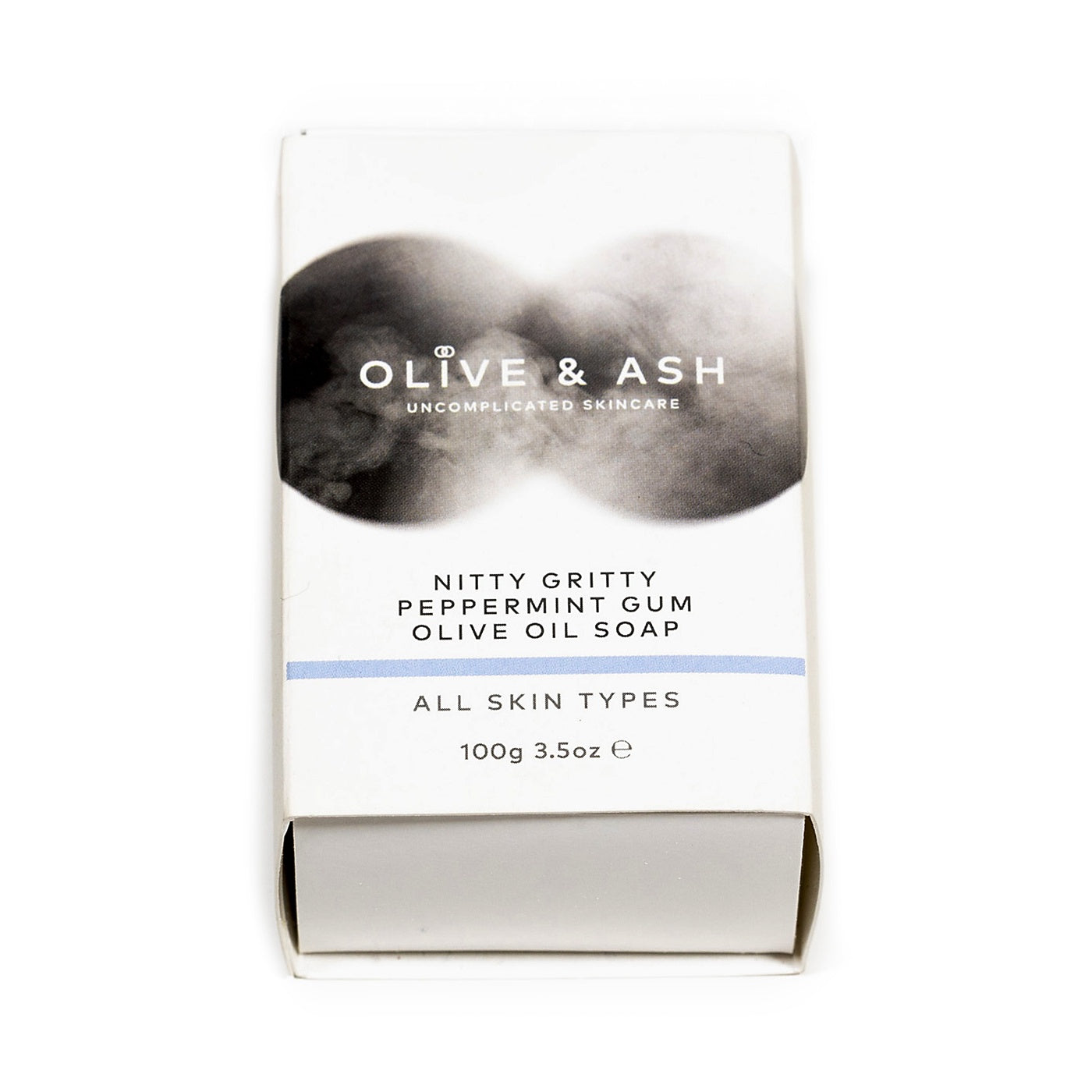 Olive & Ash - Soap - Nitty Gritty Peppermint Gum