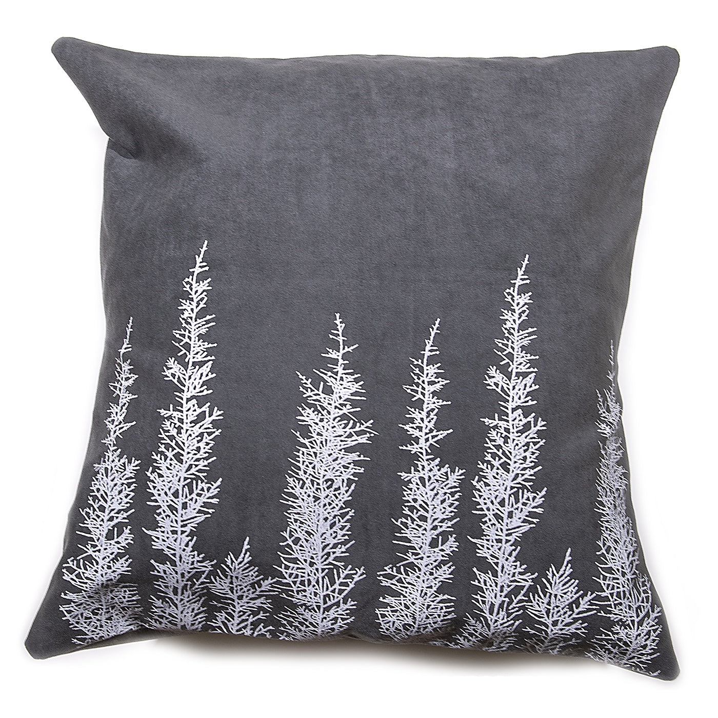 Stalley Textile Co. - Cushion Cover - Huon Pine - White on Charcoal