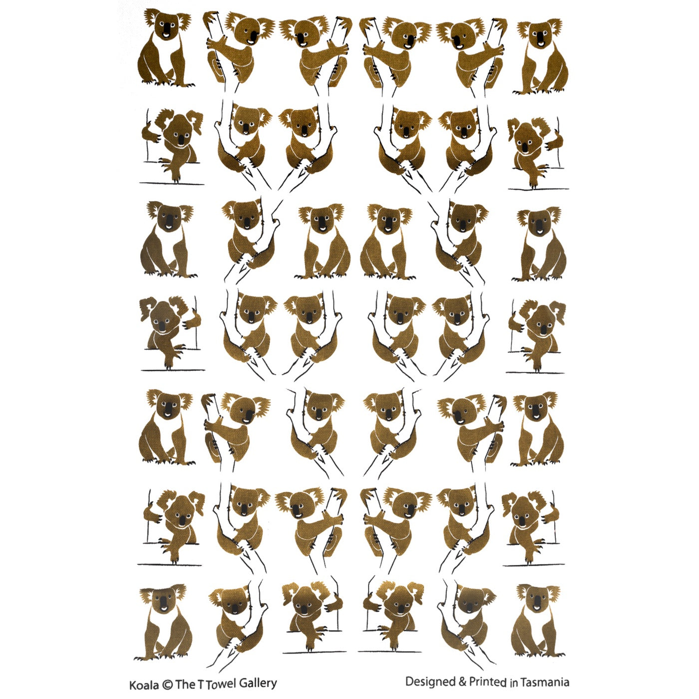 The T-Towel Gallery - Tea Towel - Koala