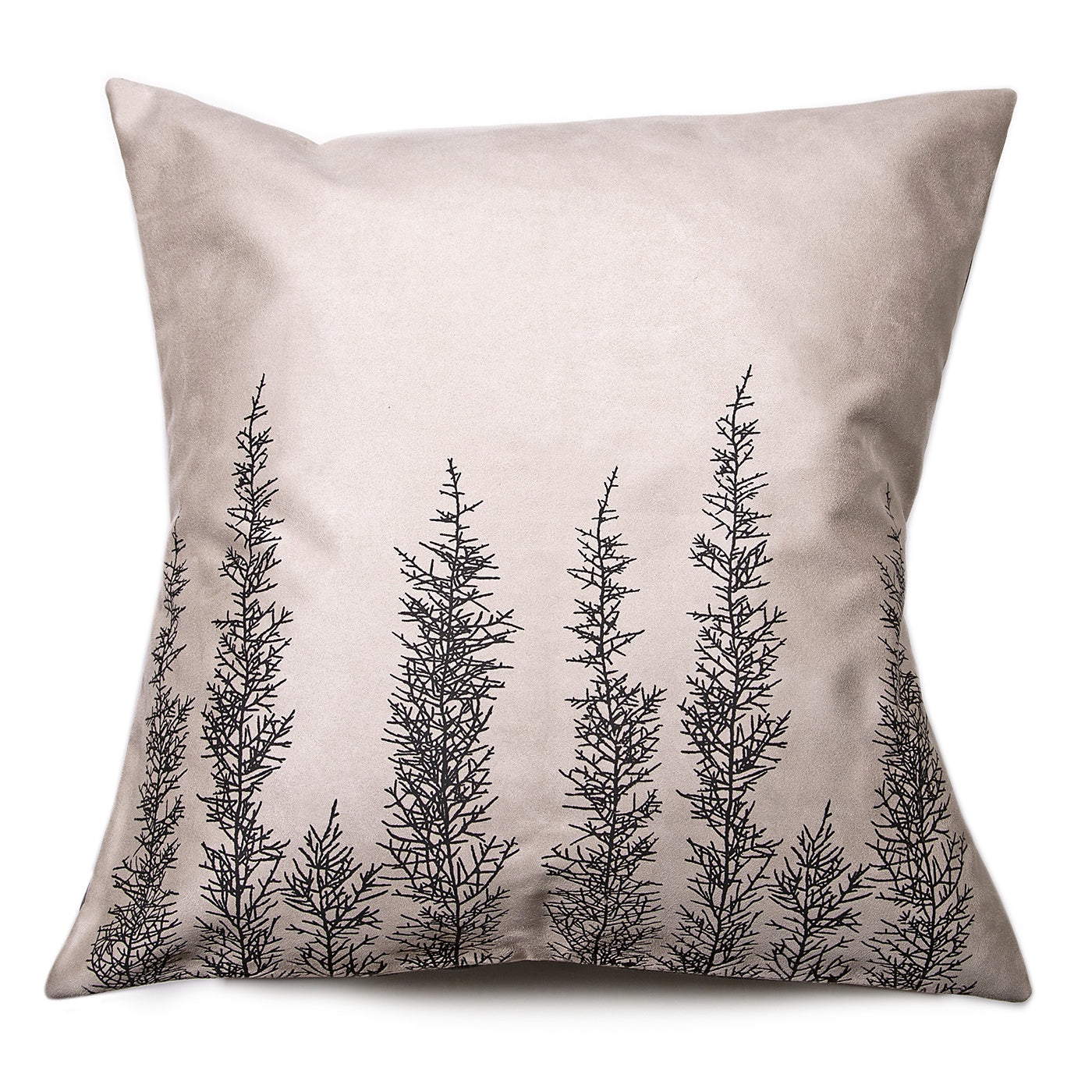 Stalley Textile Co. - Cushion Cover - Huon Pine - Black on Cream