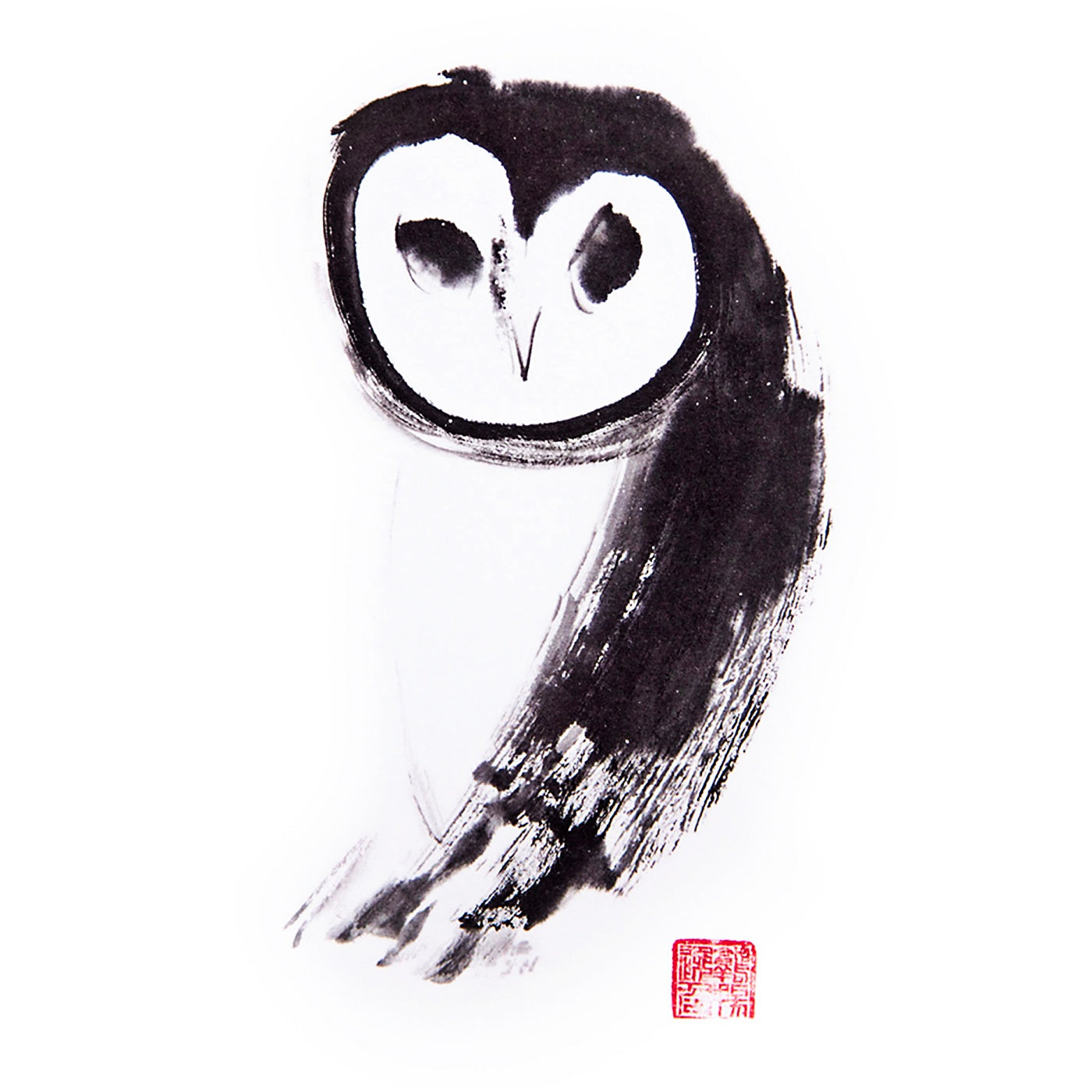 Artcards.Ink - Art Print - Owl