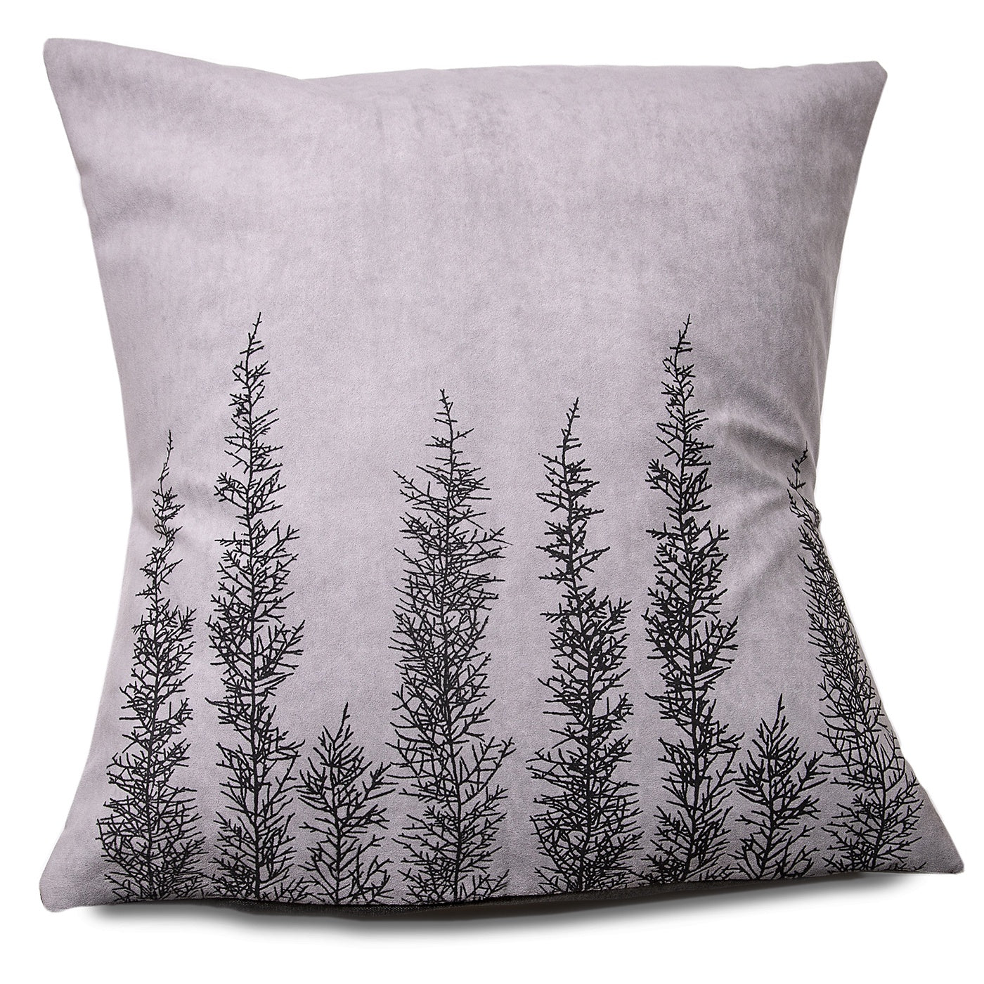 Stalley Textile Co. - Cushion Cover - Huon Pine - Black on Light Grey