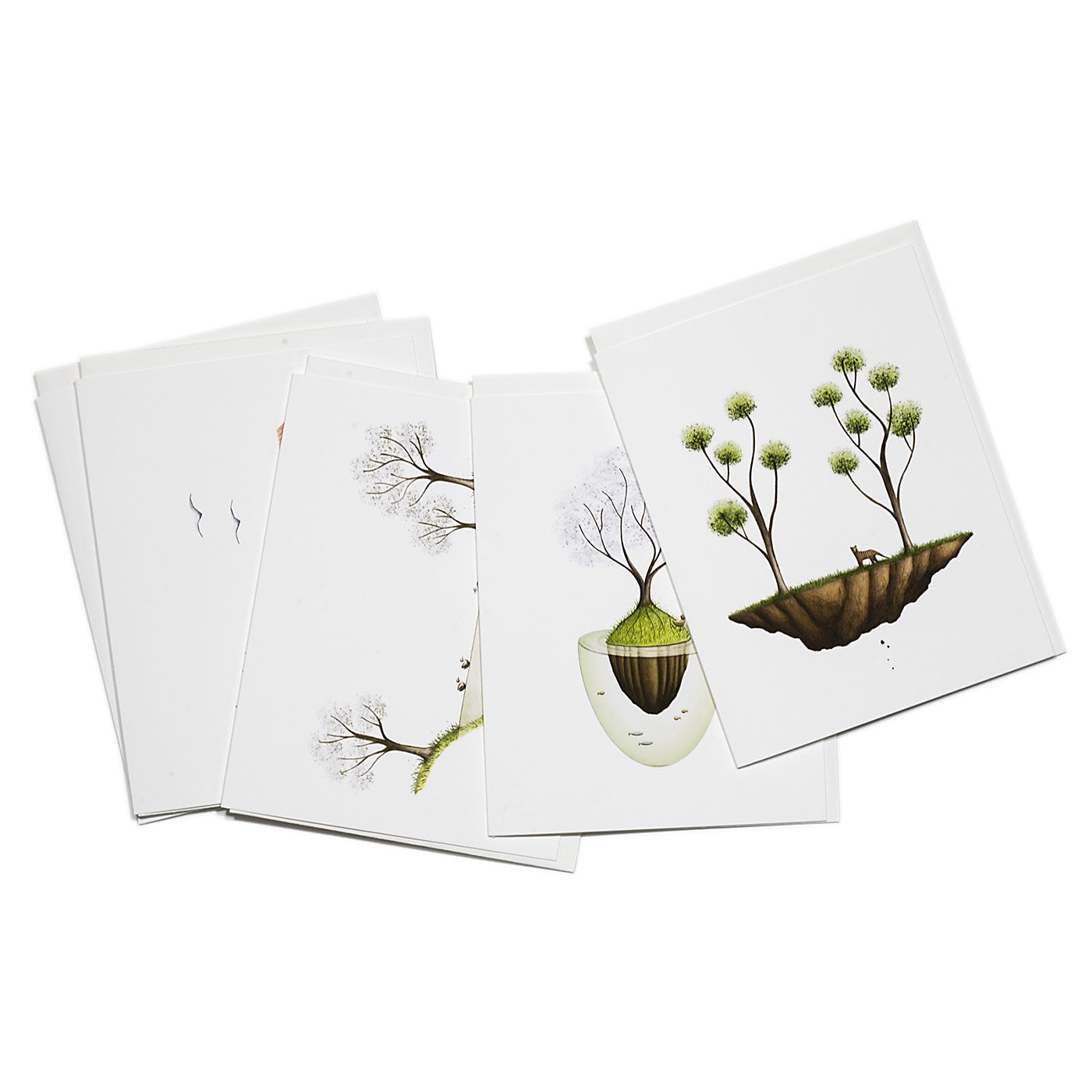 Art by Jonty - Pack of 5 Cards