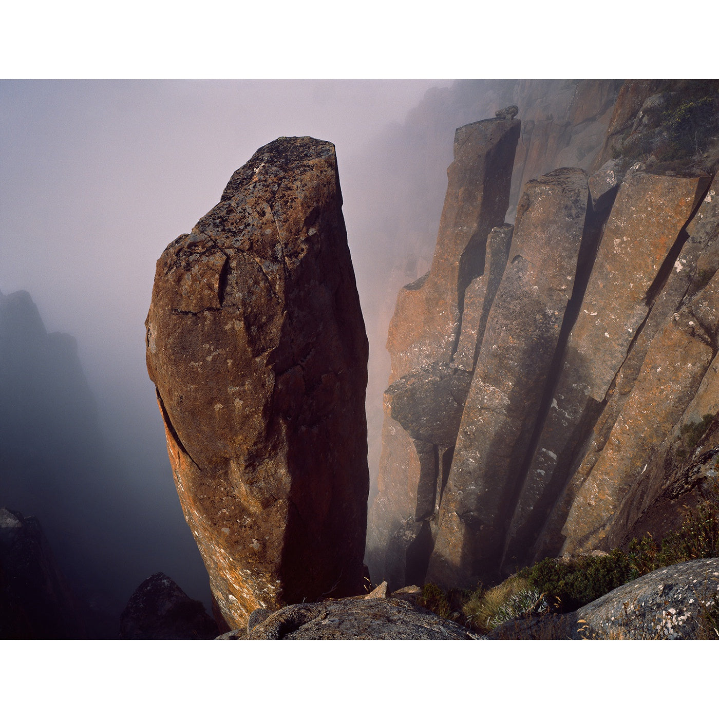 Peter Dombrovskis - Dolerite columns, Organ Pipes, kunanyi/Mount Wellington