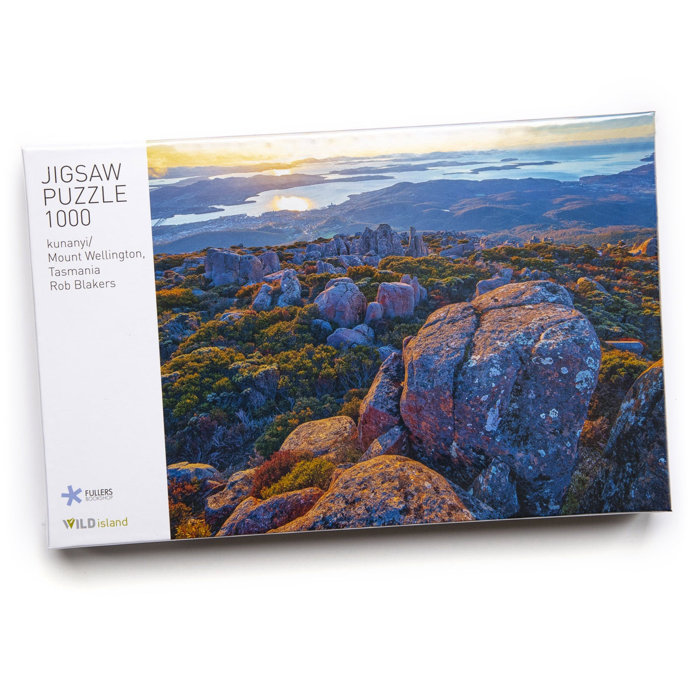 Rob Blakers Jigsaw Puzzle - kunanyi/Mt Wellington