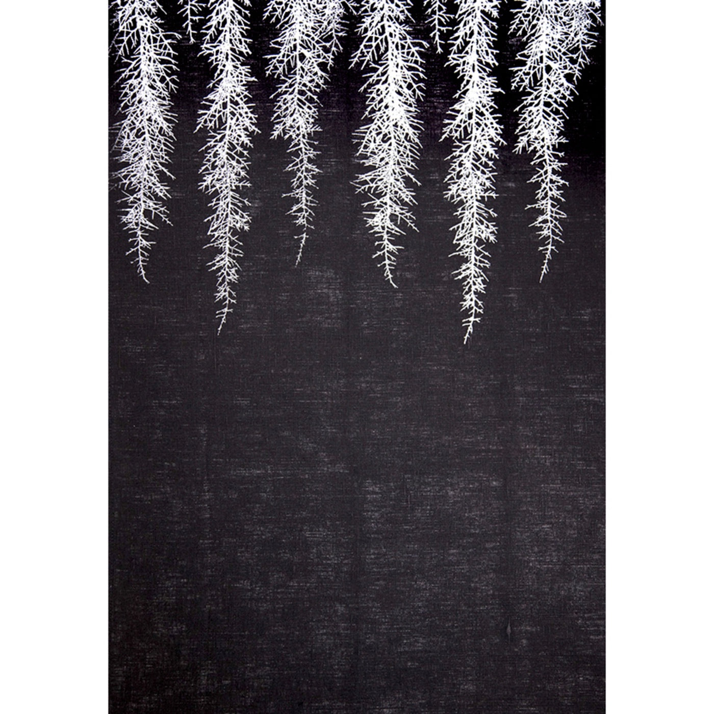 Stalley Textile Co. - Tea Towel - Huon Pine - Silver on Black
