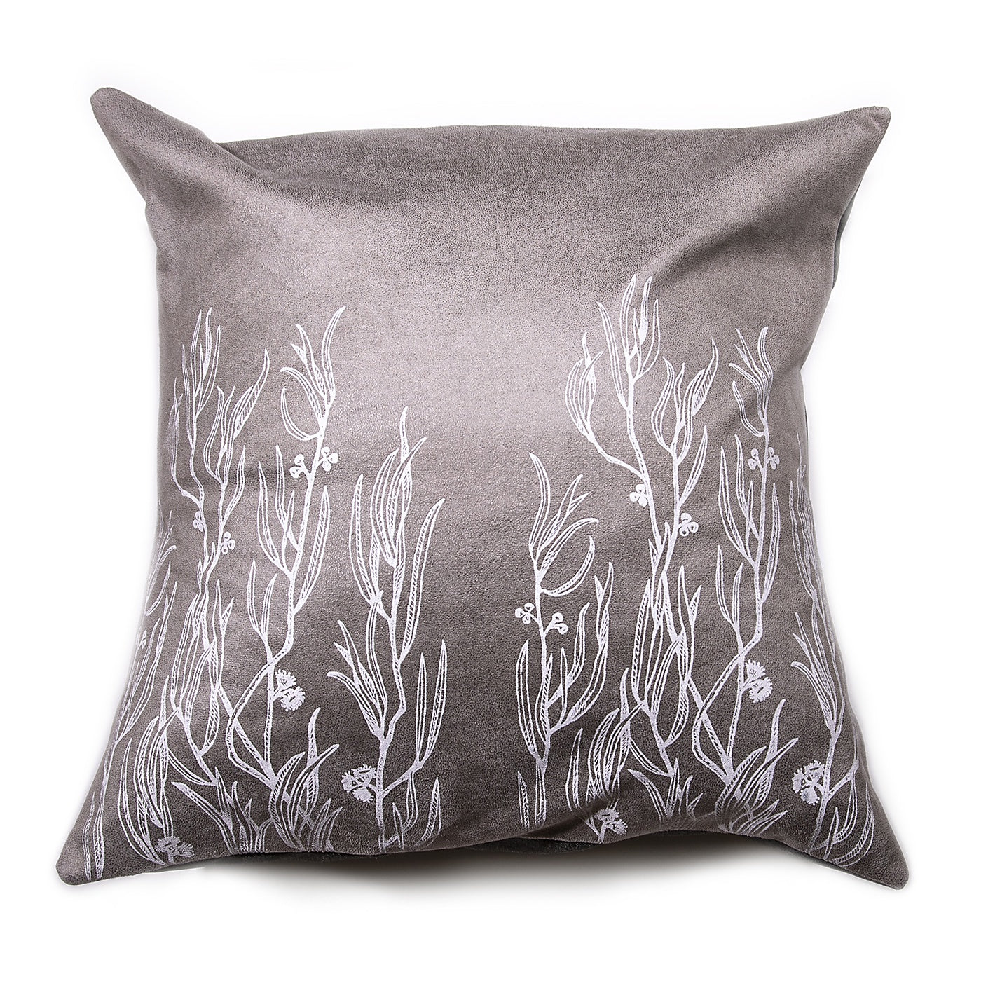 Stalley Textile Co. - Cushion Cover - Peppermint - White on Light Grey