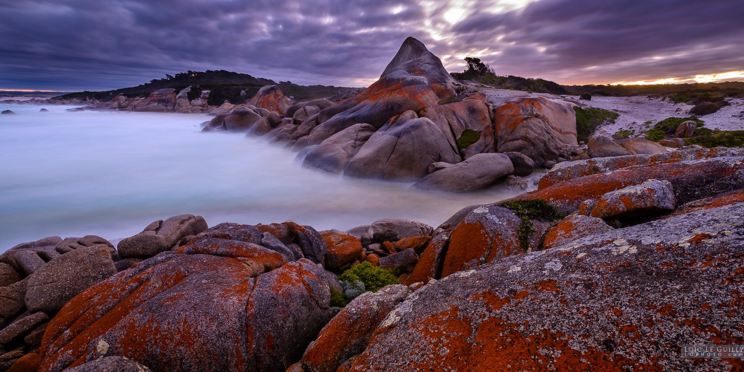 Bay of Fires dusk by Loic Le Guilly