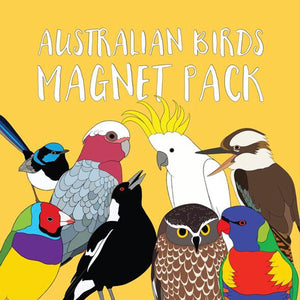 Red Parka - Magnet Pack - Australian Birds