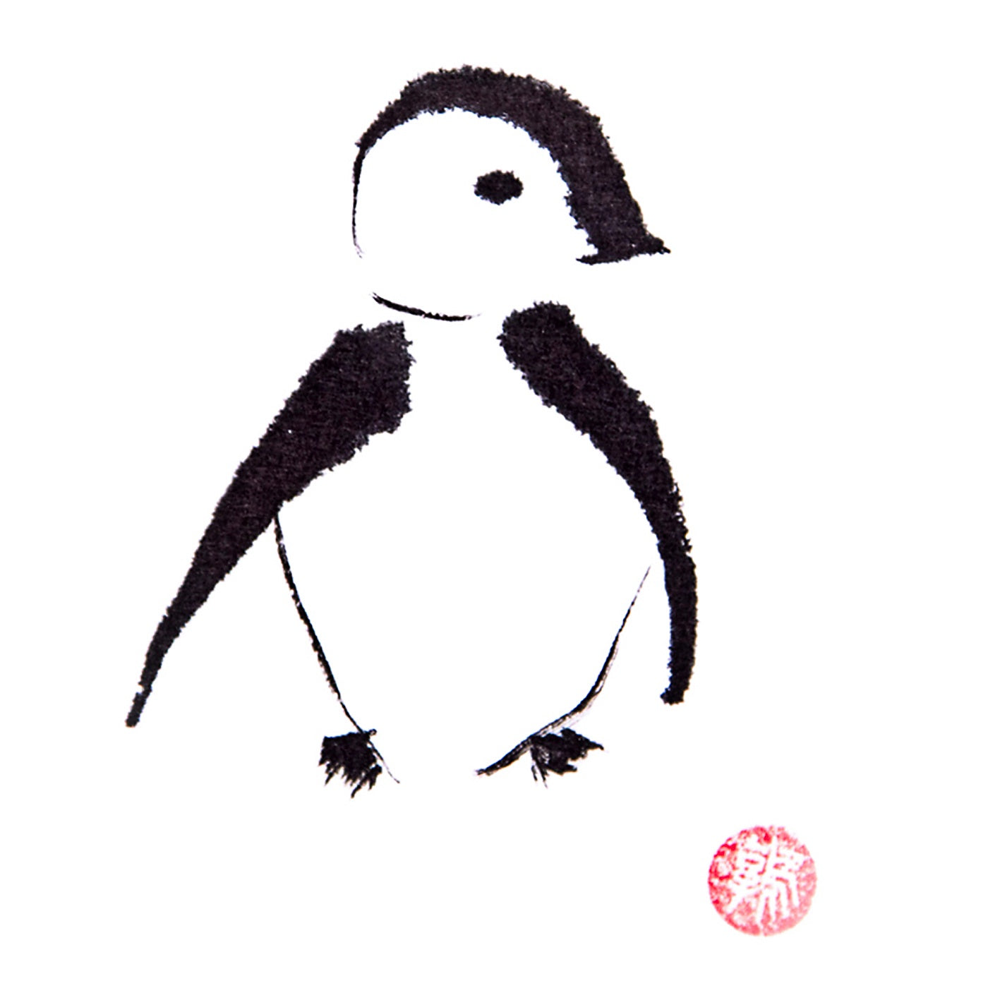 Artcards.Ink - Art Print - Penguin