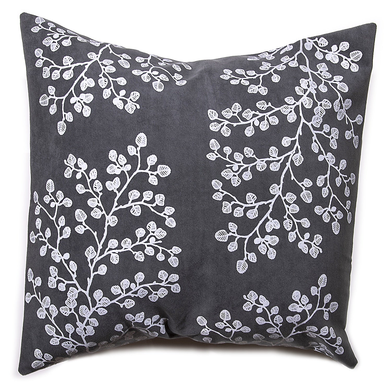 Stalley Textile Co. - Cushion Cover - Fagus - White on Charcoal